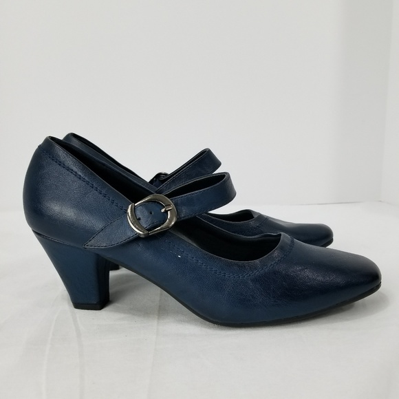 Womens Navy Blue Casual Dress Shoes